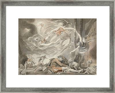 The Shepherd's Dream Framed Print by Henry Fuseli