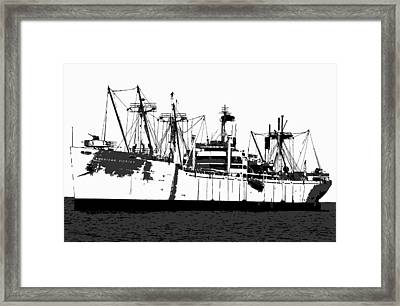 The Ship Framed Print by David Lee Thompson