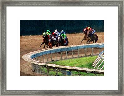The Shore's Greatest Stretch Framed Print by Colleen Kammerer