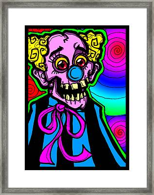 The Show Must Go On Framed Print by Christopher Capozzi