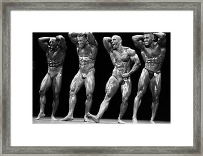 The Showdown  Framed Print by Mountain Dreams