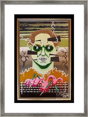The Sickness Framed Print by Stephen Brooks