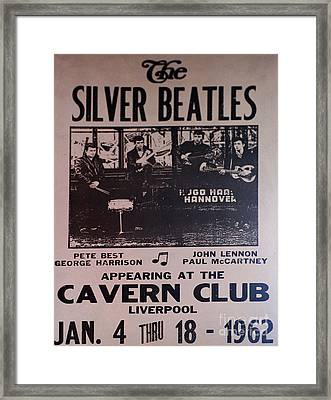 The Silver Beatles Poster Collection 4 Framed Print by Bob Christopher