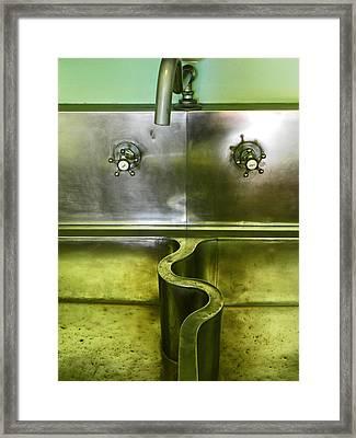 The Sink Framed Print by Elizabeth Hoskinson