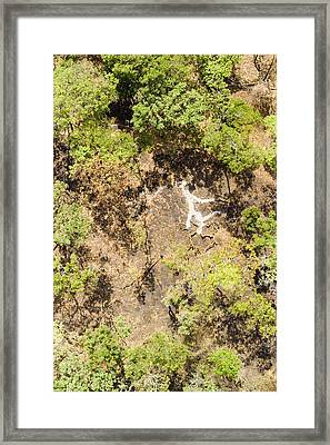 The Slash And Burn Is Spreading Framed Print by Michael Fay