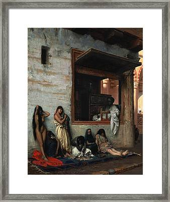 The Slave Market Framed Print by Jean Leon Gerome