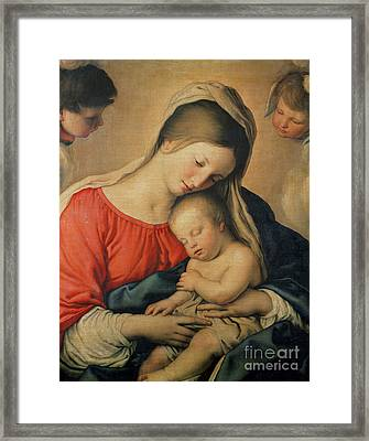 The Sleeping Christ Child Framed Print by Il Sassoferrato