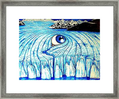 The Slow End Of Years Accumulation Framed Print by Paulo Zerbato