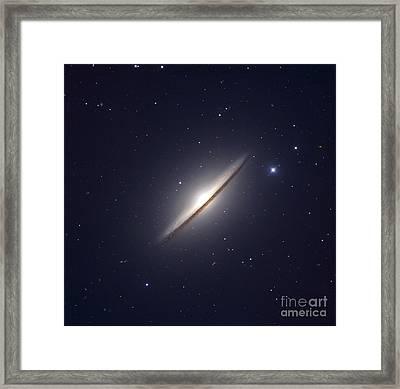 The Sombrero Galaxy Framed Print by Robert Gendler