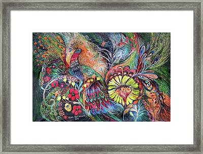 The Song Of Agada Framed Print by Elena Kotliarker