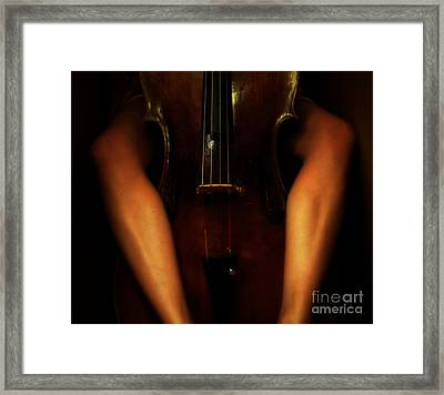 The Sound Of Eroticism   Framed Print by Steven  Digman