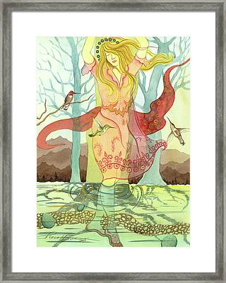 The Source Framed Print by Sheri Howe