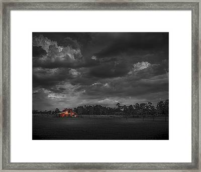 The South Forty Framed Print by Marvin Spates