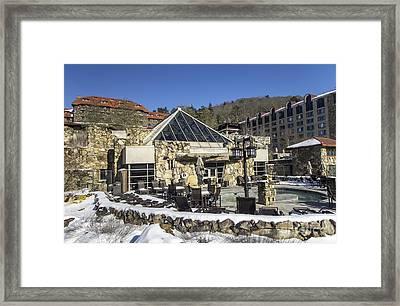 The Spa At The Omni Grove Park Inn Framed Print by David Oppenheimer