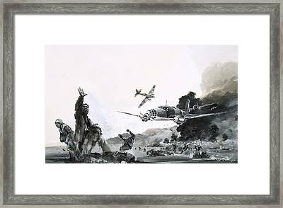 The Spanish Civil War Framed Print by Graham Coton