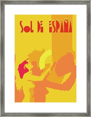 The Spanish Sun  Framed Print by Joaquin Abella