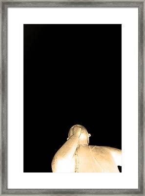 The Speaker Framed Print by Toppart Sweden