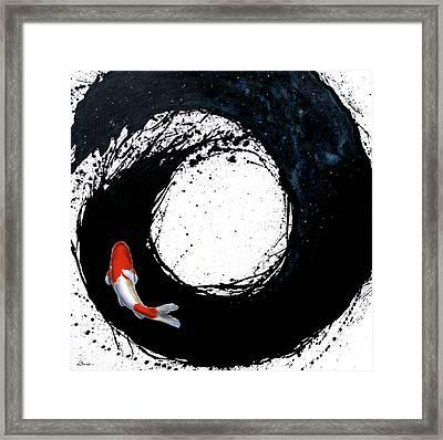 The Spiral Framed Print by Sandi Baker