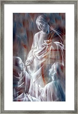 The Spirit Framed Print by Munir Alawi