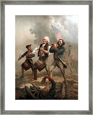 The Spirit Of '76 Framed Print by War Is Hell Store