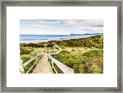 The Spit Lookout Framed Print by Jorgo Photography - Wall Art Gallery