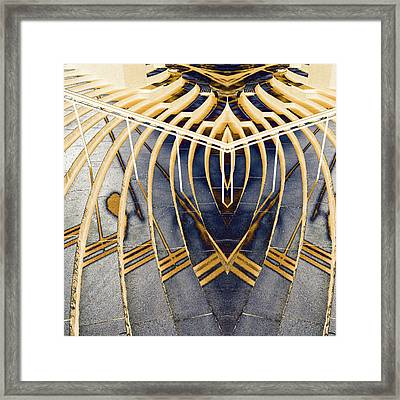 The Stairs To Nowhere Framed Print by Toppart Sweden