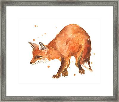 The Stalker Framed Print by Alison Fennell