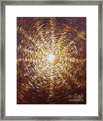 The Star Of Vergina Framed Print by Tatjana Popovska