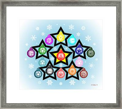 The Stars Align For Christmas Framed Print by Brian Wallace