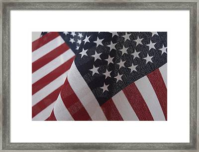The Stars And Stripes Framed Print by Jerry McElroy