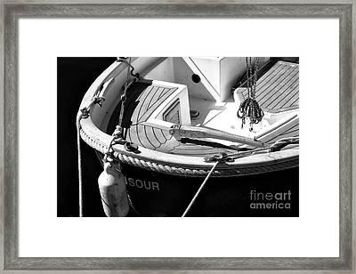 The Stern Framed Print by John Rizzuto