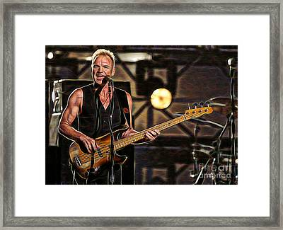 Sting Collection Framed Print by Marvin Blaine
