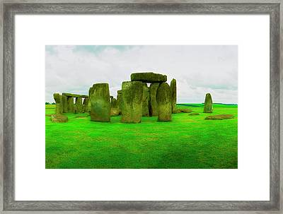 The Stones Framed Print by Jan W Faul