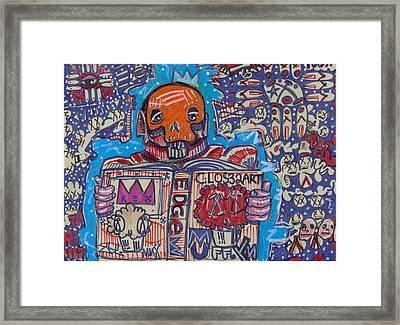 The Story Teller Framed Print by Robert Wolverton Jr