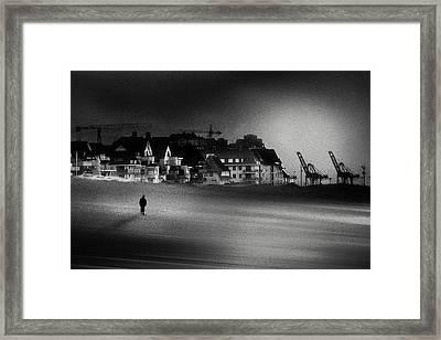 The Stranger Framed Print by Piet Flour