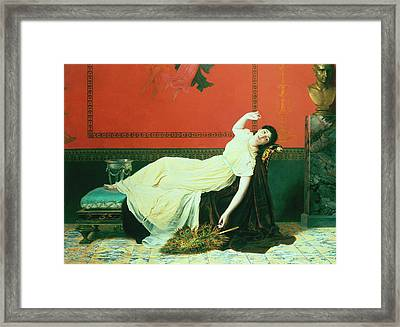 The Studio Framed Print by Sophie Anderson