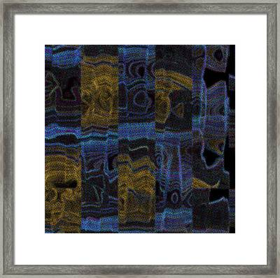 The Subconscious Framed Print by Lenore Senior