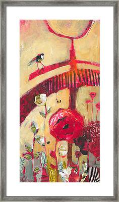 The Suitor Framed Print by Shelli Walters