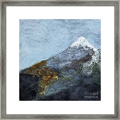 The Summit Framed Print by Barb Pearson