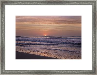 The Sun Will Always Rise  Framed Print by Betsy C Knapp
