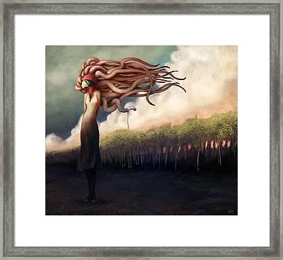 The Sundered Framed Print by Ethan Harris
