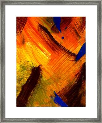 The Sunrise Of My Soul  Framed Print by Kimanthi Toure