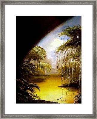 The Swamp Framed Print by Michael McKenzie