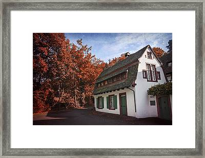 The Swiss House Framed Print by Carol Japp