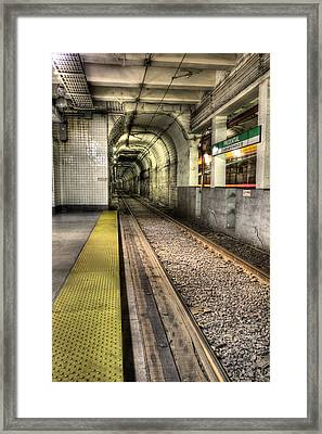 The T Framed Print by JC Findley
