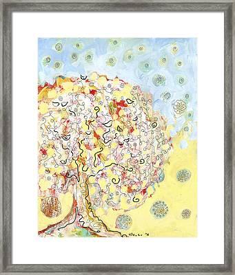 The Talking Tree Framed Print by Jennifer Lommers