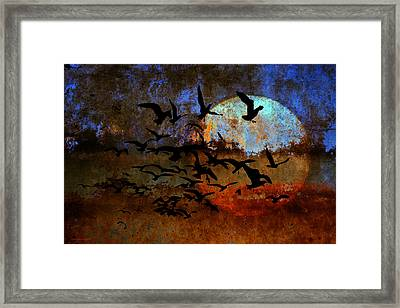 The Texture Of Our Dreams Framed Print by Ron Jones