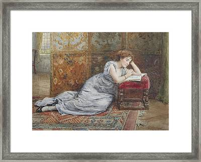 The Thick Of The Plot Framed Print by George Goodwin