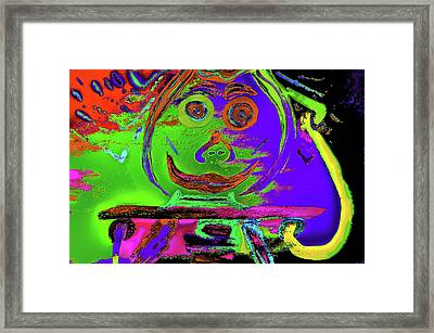 The Thinker Framed Print by Kenneth James