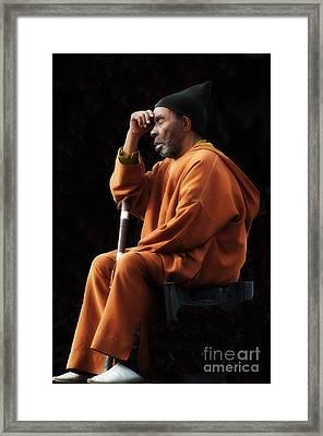 The Thinker Framed Print by Marion Galt